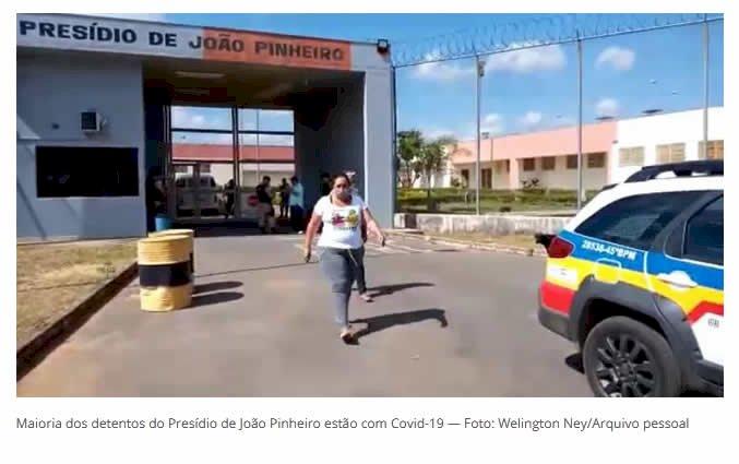 Presídio de João Pinheiro tem 200 detentos confirmados com Covid-19