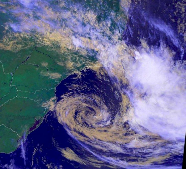 Novo Ciclone Subtropical no Brasil?